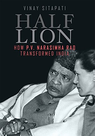 cover image for Half-Lion: How P.V. Narasimha Rao Transformed India