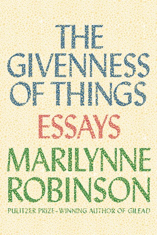cover image for The Givenness of Things