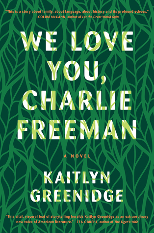 cover image for We Love You Charlie Freeman